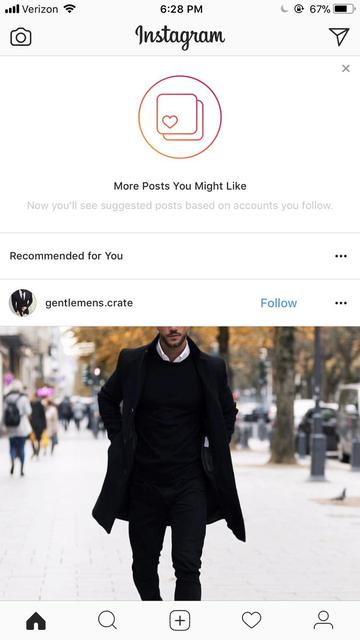 рекомендовані пости в інстаграм