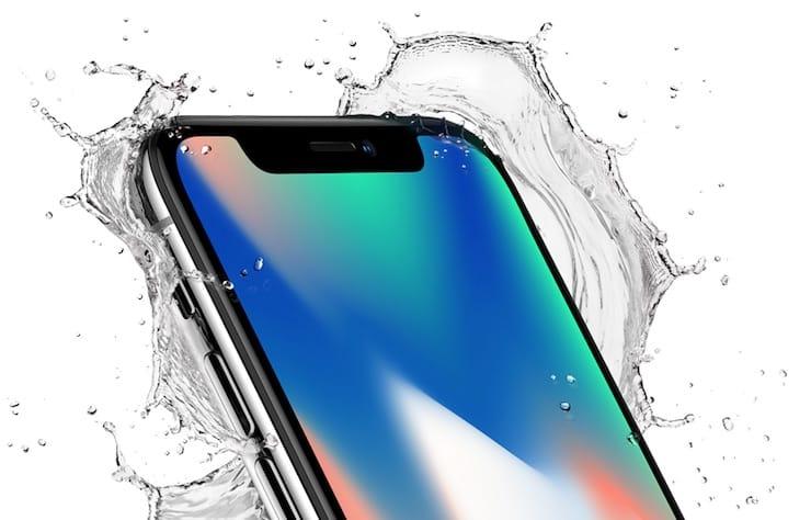 Водонепроникність iPhone X