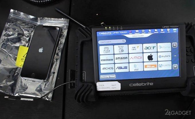 Представлено новий пристрій для злому iPhone правоохоронцями (3 фото)